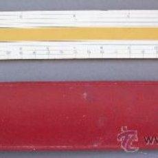 Antigüedades: REGLA DE PLASTICO FABER CASTELL 2753, ARMSTRONG (EN PULGADAS, 32,5X3,5CM APROX). Lote 27209726