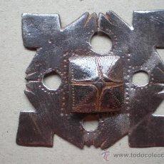 Antigüedades: CLAVO ANTIGUO SIGLO XVIII MIDE 8 X 8 CENTÍMETROS Y 14 DE LONGITUD. Lote 12747989