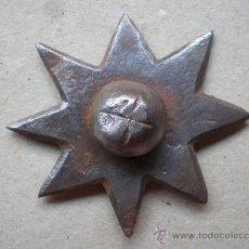 Antigüedades: CLAVO ANTIGUO SIGLO XVIII - XIX MIDE 6,5 CENTÍMETROS DE DIÁMETRO Y 11 DE LONGITUD. Lote 12748655