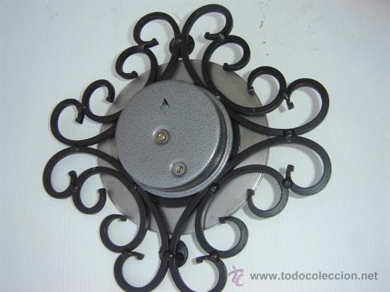Antigüedades: barometro hierro forja - Foto 2 - 12752765