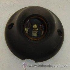 Antigüedades: PORTALAMPARAS DE PARED PARA BOMBILLA. Lote 12794306