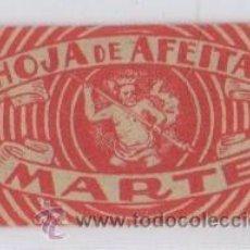 Antigüedades: CUCHILLA DE AFEITAR MARTE HOJA. Lote 235987595