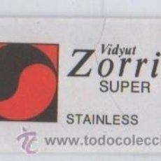 Antigüedades: CUCHILLA DE AFEITAR VIDYUT ZORRIK SUPER HOJA. Lote 235987370