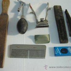 Antigüedades: CONJUNTO DE BARBERIA. Lote 12897379