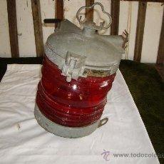 Antigüedades: FAROL BALIZA DE BARCO. Lote 26612685