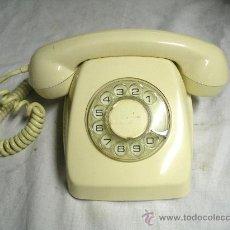 Teléfonos: TELEFONO SOBREMESA HERALDO DE CITESA MALAGA COLOR MARFIL, PROBADO Y FUNCIONA. Lote 105015420