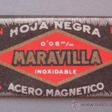 Antigüedades: HOJA DE AFEITAR MARAVILLA. Lote 32907863