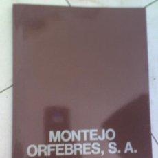 Antigüedades: PLATA TROFEOS ETC MONTEJO ORFEBRES LIBRO CATALOGO MUESTRARIO DE TROFEOS. Lote 20941534