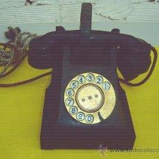 Teléfonos: TELEFONO ANTIGUO DE BAQUELITA. Lote 13777073
