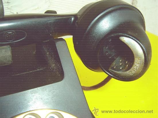 Teléfonos: telefono antiguo de baquelita - Foto 2 - 13777073