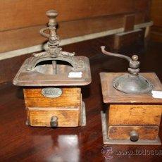 Antigüedades: MOLINILLOS DE CAFÉ REF.4159. Lote 13825078