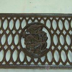 Antigüedades: PEDAL ANTIGUO DE HIERRO PARA MAQUINA DE COSER -MEDIDA 33*25 CMS.. Lote 27161731