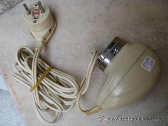 ANTIGUA MAQUINILLA DE AFEITAR ELECTRICA BITENSION FUNCIONANDO - PHILISHAVE APROX 1960 (Antigüedades - Técnicas - Barbería - Maquinillas Antiguas)