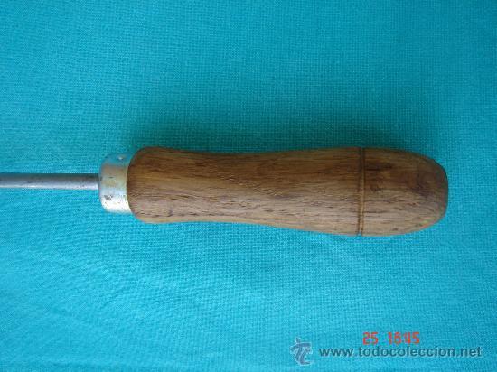 Antigüedades: VISTA DEL MANGO DE MADERA - Foto 3 - 27410349