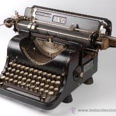 Antigüedades: ANTIGUA MAQUINA DE ESCRIBIR AEG, EN PERFECTAS CONDICIONES, FUNCIONANDO, RECIEN REVISADA.. Lote 20414991