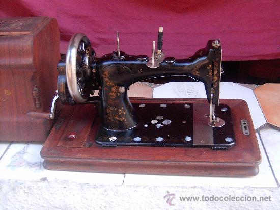 Antigüedades: maquina de coser - Foto 3 - 14522963