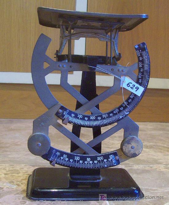 ANTIGUO PESACARTAS (Antigüedades - Técnicas - Medidas de Peso Antiguas - Otras)