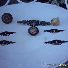 Antigüedades: ANTIGUOS BOCALLAVES Y TIRADORES VARIOS . Lote 23399609