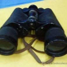 Antigüedades: PRISMATICOS / BINOCULARES - MARCA RAINBOW - 10 X 50 - FIELD 5º - CON CORREA. Lote 23837041