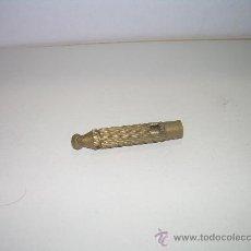 Antigüedades: ANTIGUO SILBATO DE BRONCE. Lote 23461829