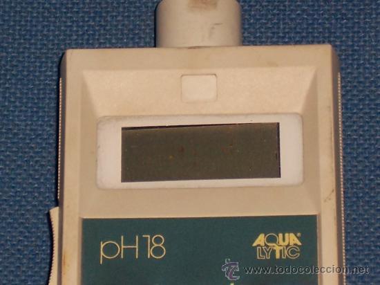 Antigüedades: ANTIGUO APARATO ELECTRONICO PARA MEDIR EL PH DEL AGUA , MARCA AQUA LYTIC ( NO FUNCIONA ) - Foto 4 - 19922055
