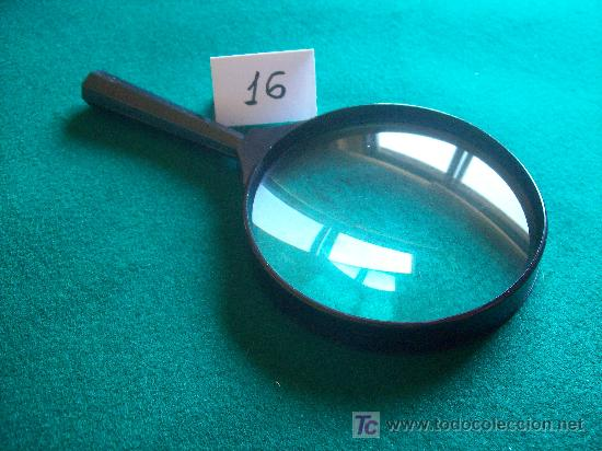 LUPA (Antigüedades - Técnicas - Instrumentos Ópticos - Lupas Antiguas)