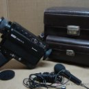 Antigüedades: CAMARA TOMAVISTAS CINE SUPER 8 - EUMING SOUND 31XL + FUNDA ORIGINAL. Lote 106895306