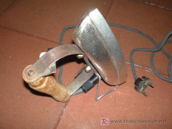 ANTIGUA PLANCHA ELECTRICA (FUNCIONANDO A 125V) (Antigüedades - Técnicas - Planchas Antiguas - Eléctricas)