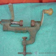 Antigüedades: PRENSADOR DE CARTUCHO. Lote 15519374