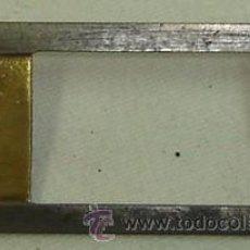 Antigüedades: PIEZA METALICA DE PROYECTOR DE CINE ANTIGUO-MEDIDA 3,5*7 CMS.. Lote 15730579
