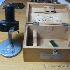 Antigüedades: COLORIMETRO PARA ANALITICA DE GLUCOSA EN SANGRE - ALEMAN - CRECELIUS 1964 + INFO. Lote 15770214