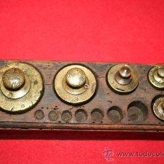Antigüedades: PESAS. Lote 26772089