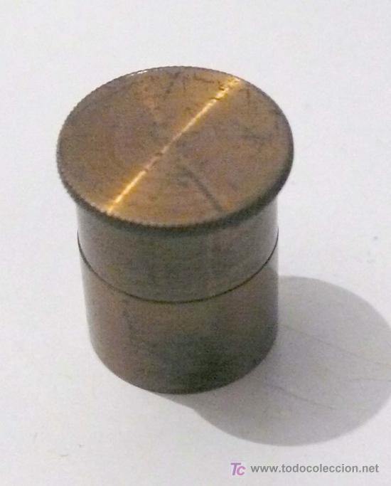 Antigüedades: balanzas inglesas en estuche incompletas. . Tamaño estuche: 15,5x10,5 cm. - Foto 4 - 19513730