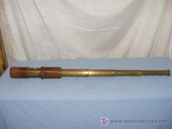 CATALEJO MARINO PRINCIPIOS S. XX. (Antigüedades - Técnicas - Instrumentos Ópticos - Catalejos Antiguos)