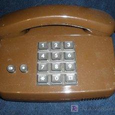 Teléfonos: TELEFONO ALEMAN. COLOR CAFÉ. MUY ORIGINAL. FUNCIONA CORRECTAMENTE. . Lote 26382885