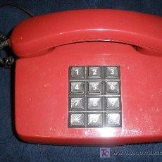 Teléfonos: TELEFONO ALEMAN. ROJO. FUNCIONA CORRECTAMENTE. . Lote 27322657
