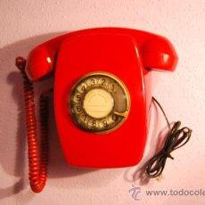 Teléfonos: TELÉFONO HERALDO DE PARED - ROJO - DIFICIL DE ENCONTRAR - CITESA - AÑOS 60 - FUNCIONANDO. Lote 35773094