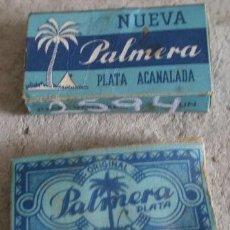 Antigüedades: HOJAS DE AFEITAR, PALMERO. Lote 16762792