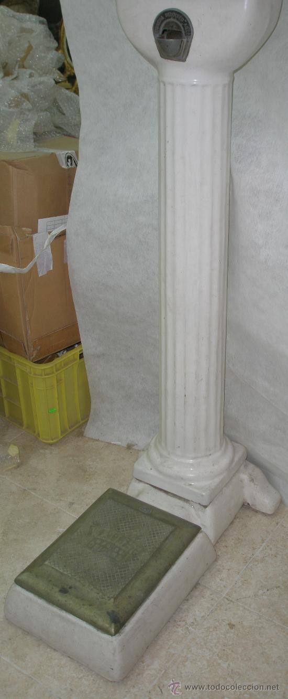 Antigüedades: ANTIGUA BASCULA POR MONEDAS WATLING MANUFACTURING COMPANY CHICAGO - Foto 10 - 27606406