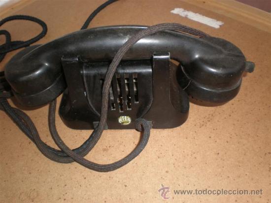 Teléfonos: telefono de hierro y baquelita hotel - Foto 2 - 16924103