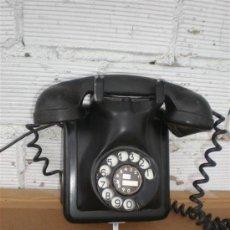 Teléfonos: TELEFONO DE PARED HIERRO Y BAQUELITA. Lote 16924158