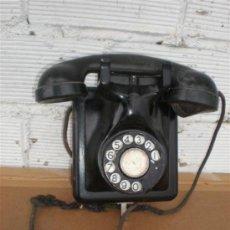 Teléfonos: RELEFONO DE PARED HIERRO Y BAQUELITA. Lote 16924198