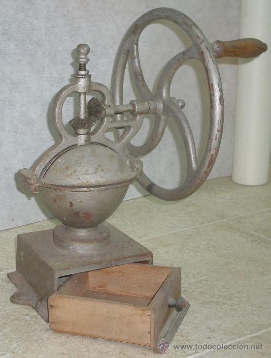 Antigüedades: ANTIGUO GRAN MOLINO CAFE ELMA Nº 2 - VER FOTOS. - Foto 5 - 26639211
