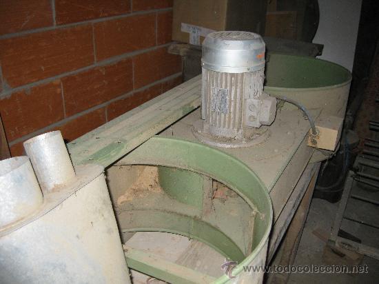 Antigüedades: Máquina extractora, o aspiradora industrial de reducidas dimensiones, ideal para taller artesano. - Foto 2 - 27219902