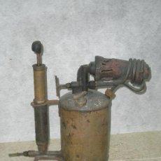 Antigüedades: ANTIGUO SOPLETE DE FONTANERO SOLDADOR. Lote 26891943