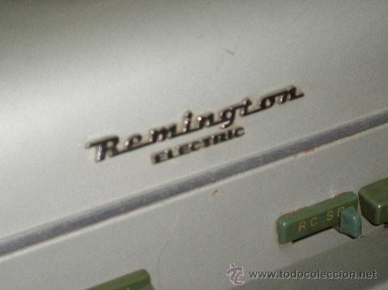 Antigüedades: MAGNIFICA REMINGTON RAND ELECTRICA - SUPER SOLIDA MAQUINA DE ESCRIBIR. COLECCION. - Foto 4 - 26396698