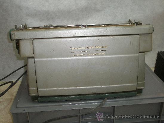 Antigüedades: MAGNIFICA REMINGTON RAND ELECTRICA - SUPER SOLIDA MAQUINA DE ESCRIBIR. COLECCION. - Foto 6 - 26396698