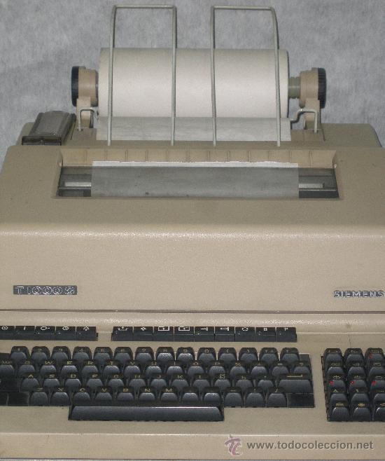 Antigüedades: TELEX SIEMENS T-1000-S EN PERFECTO ESTADO DE USO. VER FOTOS. - Foto 2 - 26891938