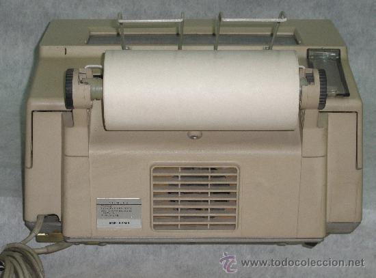 Antigüedades: TELEX SIEMENS T-1000-S EN PERFECTO ESTADO DE USO. VER FOTOS. - Foto 3 - 26891938