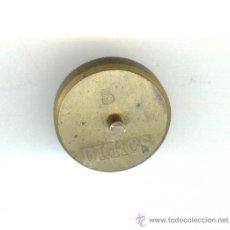 Antigüedades: PESA VALOR 5 DUROS PESO: 8'5 GRAMOS.. Lote 22605652